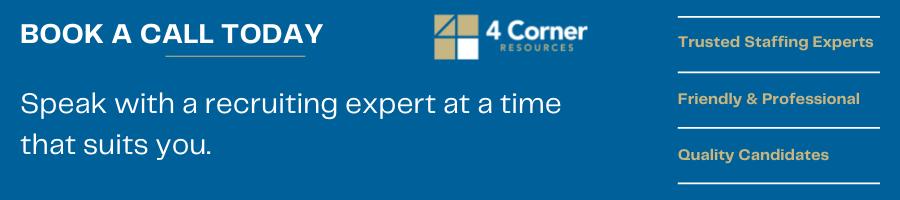 Book a hiring consultation banner on website